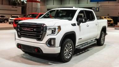 2021 2020 GMC Sierra 1500 AT4 CarbonPro Chicago Auto Show