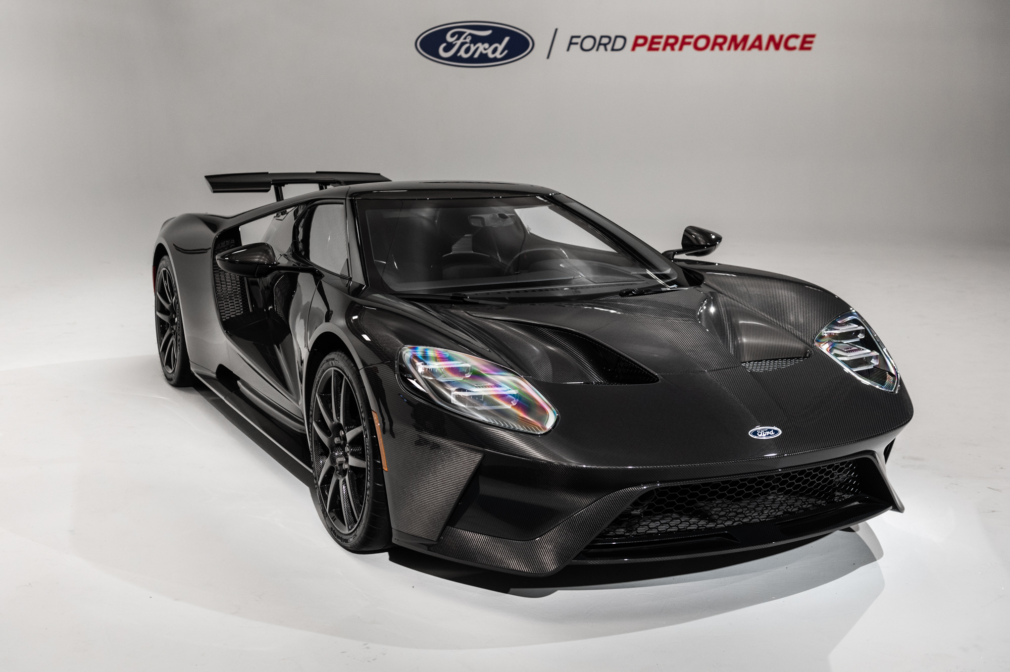 2020 Ford GT Liquid Carbon Edition: Live Photo Gallery