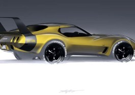 Dodge Charger Wing C3 Corvette