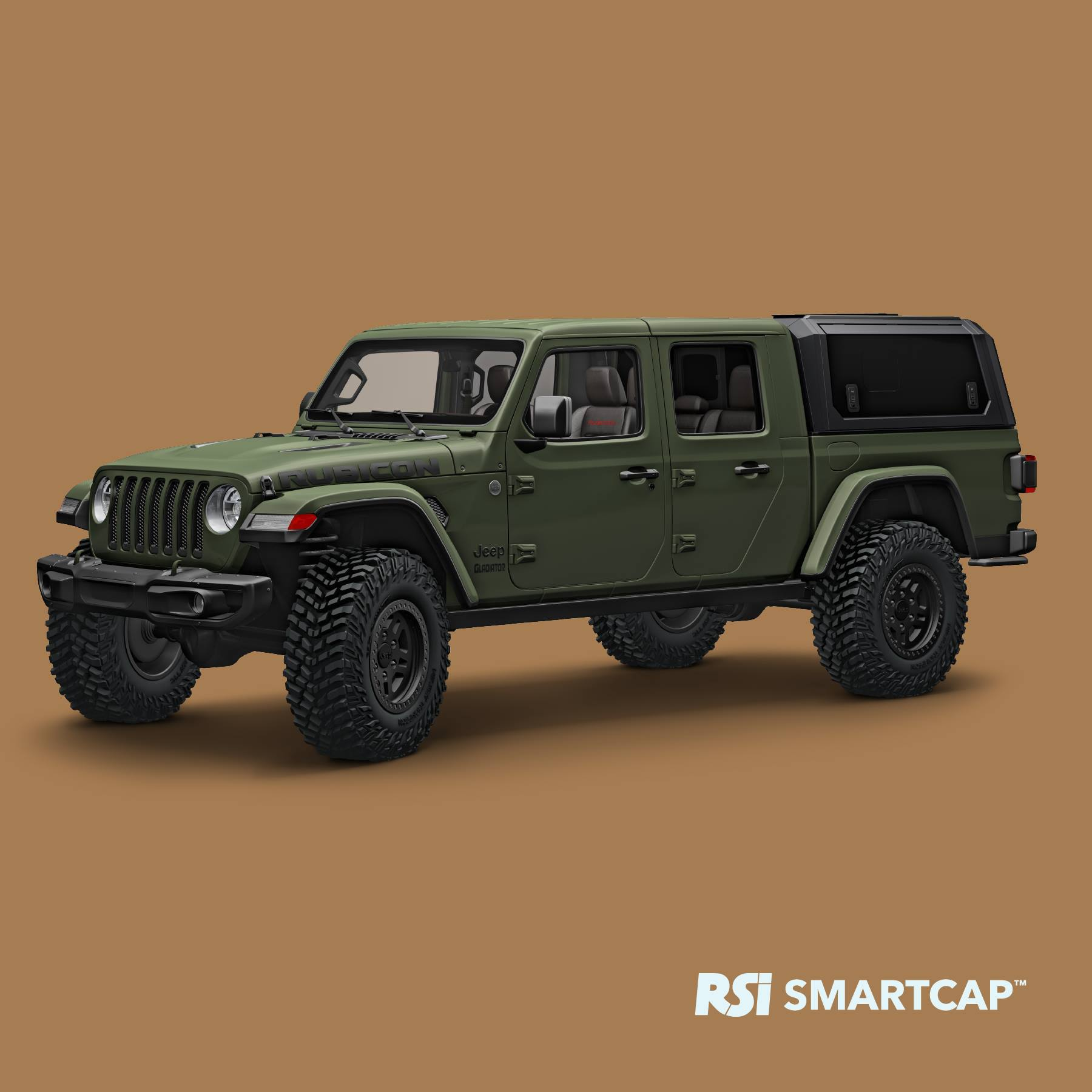 All The Jeep Gladiator Needs Is A Bed Cap  Muscle Cars & Trucks