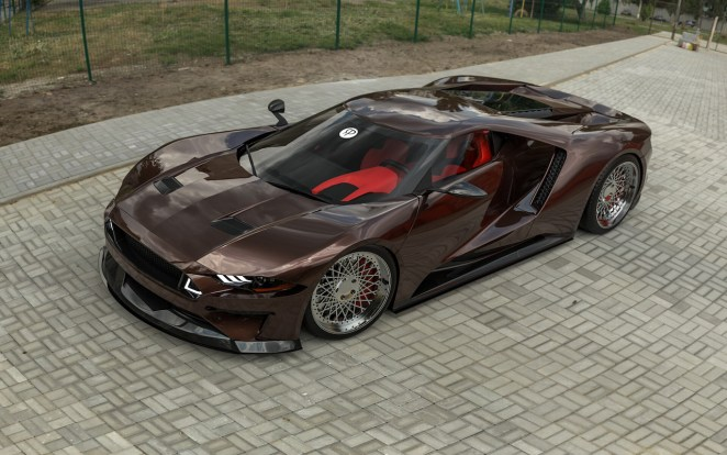 Ford GT Mustang Mashup