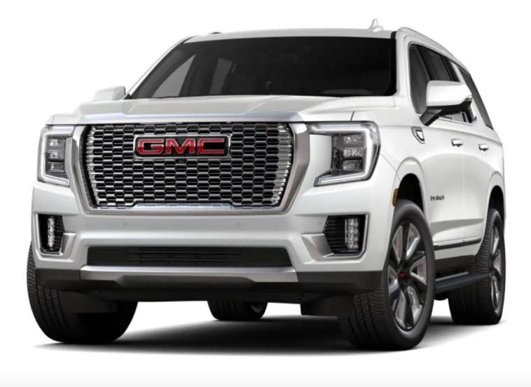2021 gmc yukon denali configurator is live | muscle cars