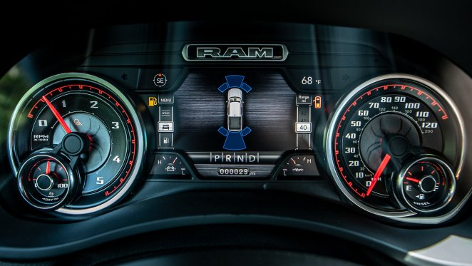 Ram 2500 HD Black Widow Dash