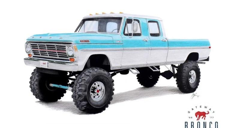 Bumpside Ford Truck