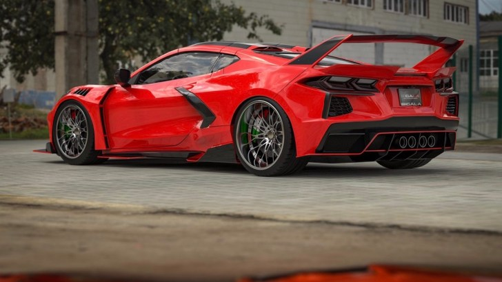 sigala widebody C8 Corvette