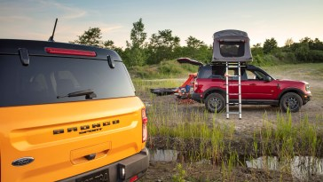 2021 Bronco Sport Camping