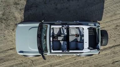 2021 Ford Bronco 4 Door Roof