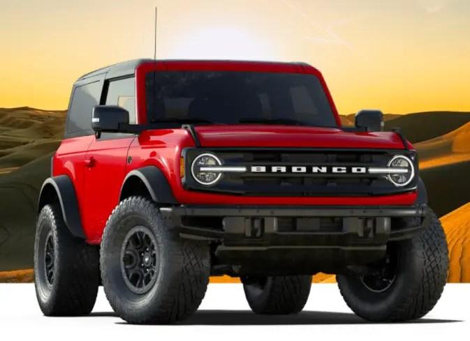 2021 Ford Bronco Wildtrak