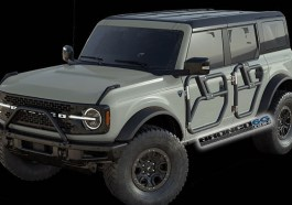 2021 Ford Bronco Tube Doors