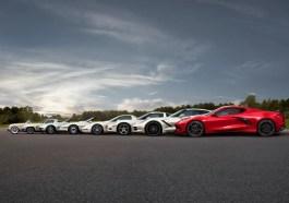 C8 Corvette Family Photo