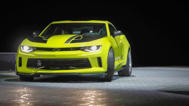 2016 Chevrolet Camaro LTG Turbo Engine