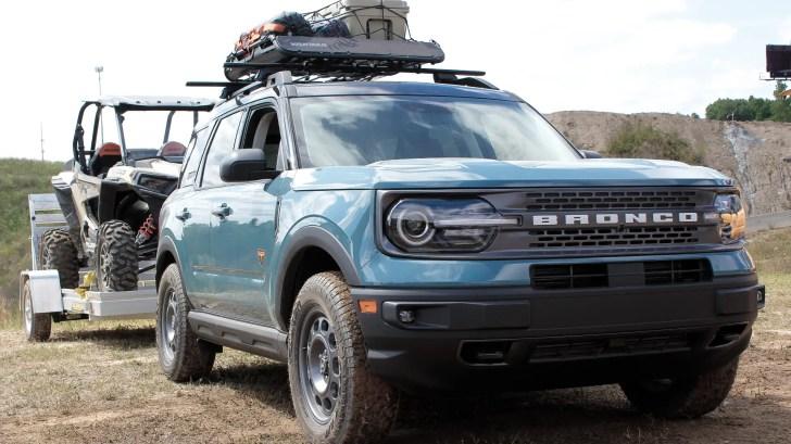 2021 Bronco Sport Badlands Tow RZR Concept