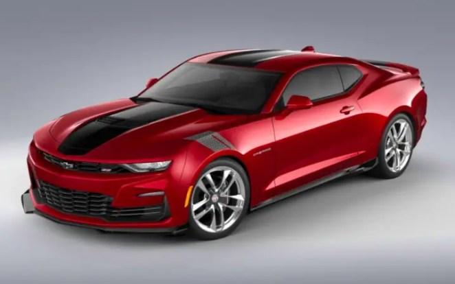 2021 Chevrolet Camaro Wild Cherry Design Package