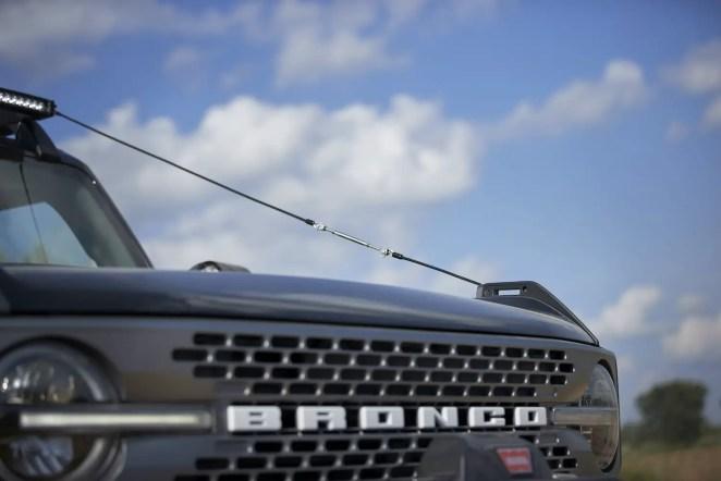 2021 Ford Bronco Two-Door Badlands Trail Rig Concept