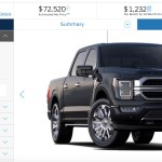 2021 Ford F-150 Limited Configurator
