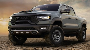 2021 Ram 1500 TRX Launch Edition Anvil Gray