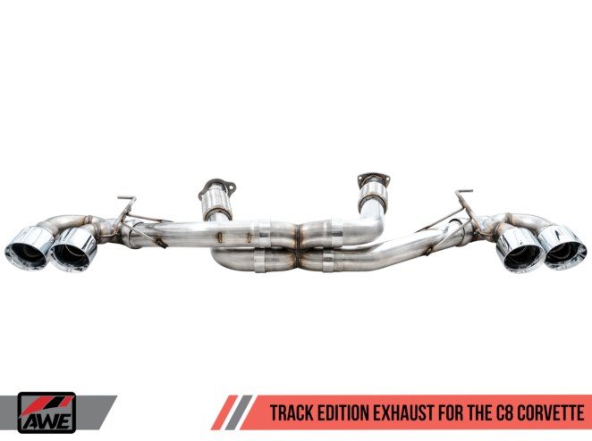 C8 Corvette AWE Exhaust Track Edition
