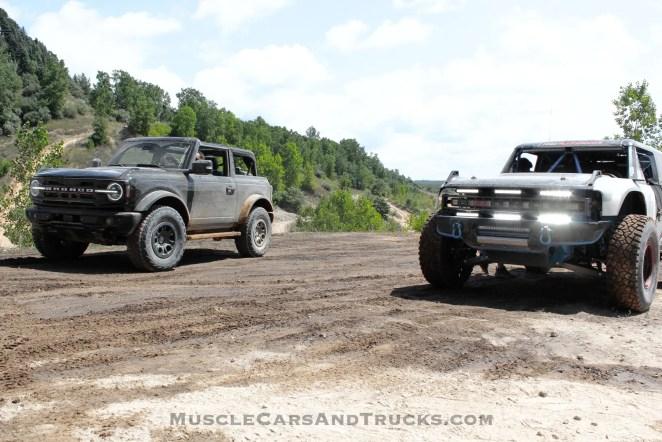 2021 Ford Bronco And Bronco R