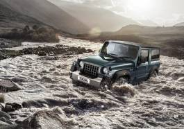 Mahindra Thar Jeep Wrangler clone