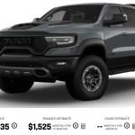 2021 Ram TRX Price Launch Edition