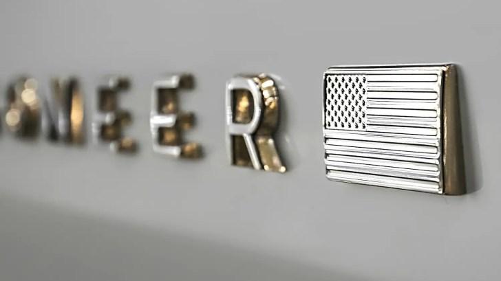 Jeep Grand Wagoneer Badge