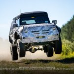 2023 2024 Ford Bronco Raptor Warthog Teaser Spy Photo Prototype