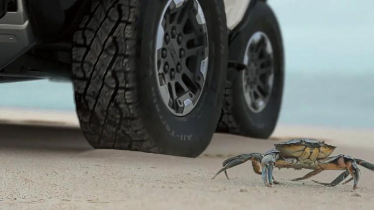 2022 GMC Hummer EV Crab Mode