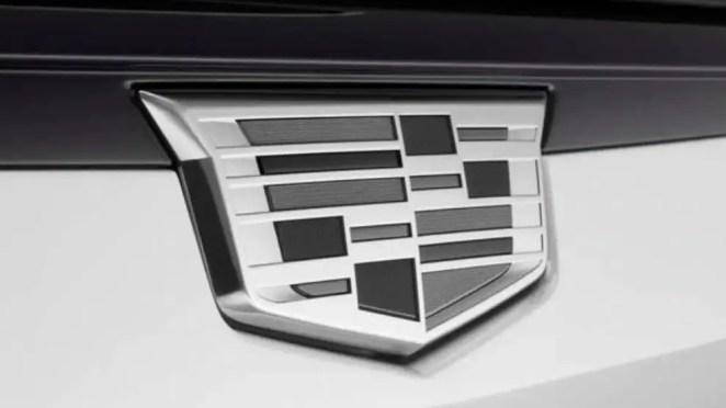 Monochromatic Cadillac Badges