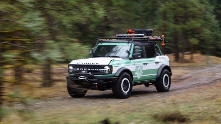 Ford + Filson Bronco Fire Rig