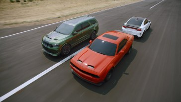 Dodge Muscle Cars Doing The Shake N Bake