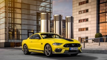 2021 Ford Mustang Mach 1 Grabber Yellow Europe