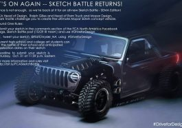 Mopar SEMA 2020 Sketch Battle Jeep