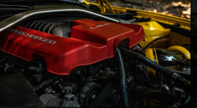 2013 Nickey Camaro ZL1 Engine