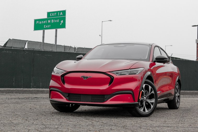 2021 Ford Mustang Mach E Not A Pony Car But Not Quite An Suv Either