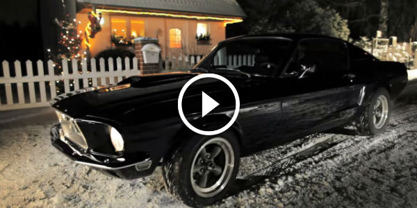 Happy Holidays With This Classic Ford Mustang Christmas Song