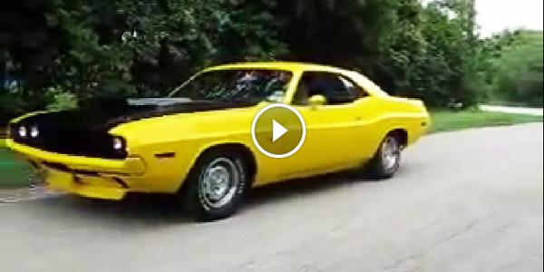 Six 70 Dodge Challenger Rt Pack 440