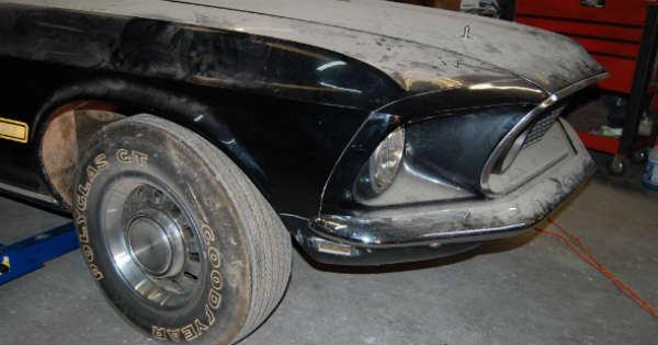 1969 Cobra Jet Mustang Barn Find 55