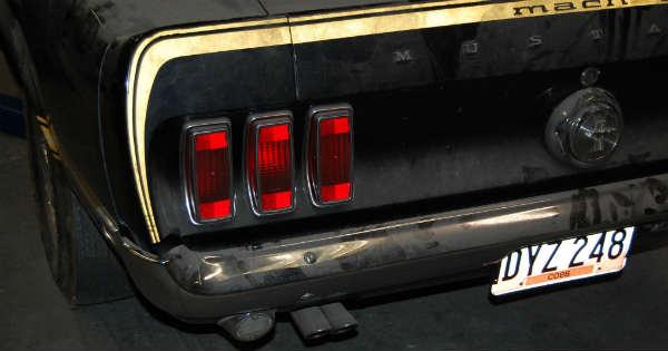 1969 Cobra Jet Mustang Barn Find 66