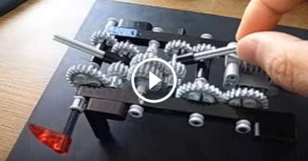 This Guy Made A 4 Speed LEGO Transmission That Just Works Perfectly     This Guy Made A 4 Speed LEGO Transmission That Just Works Perfectly   Fascinating Work    Muscle Cars Zone