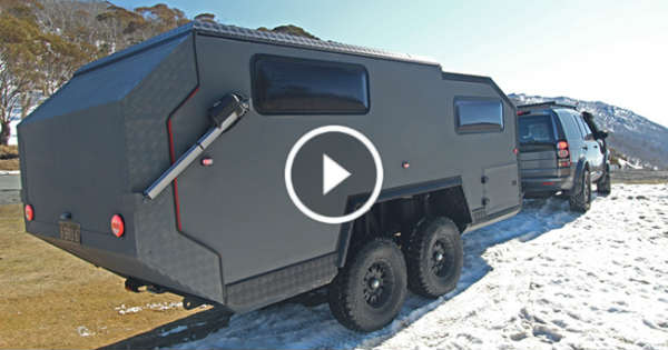 Backcountry Camper Trailer