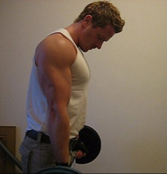 Build Bulging Biceps With EZ Bar Curls
