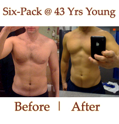 How Did This 40+ Guy Get A Youthful Six-Pack?
