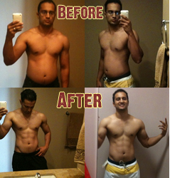 Guy Torches Fat & Builds Muscle…Here's The Pics