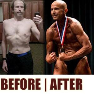 Shy & Skinny 63 Yr Old Reveals How He Got 10% Bodyfat & Abs