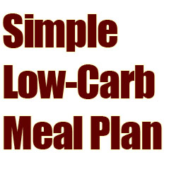 Easy Low Carb High Protein Daily Meal Plan