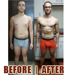 Young Man Goes From Skinny-Fat To Beach Body