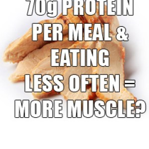 Eat Less Often For Better Muscle Gains