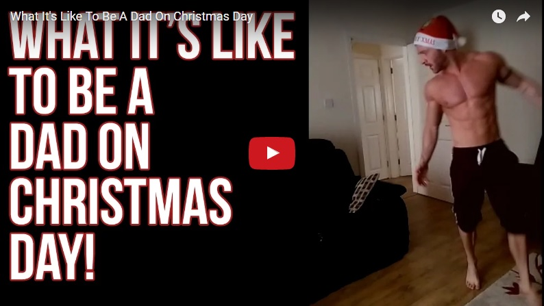 What it's like to be a Dad on Christmas Day