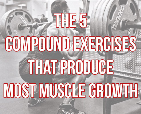 """The 5 """"Must-Do"""" Compound Exercises For Big Gains"""