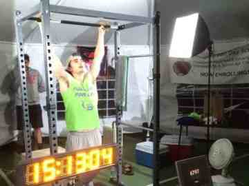 pull up world record